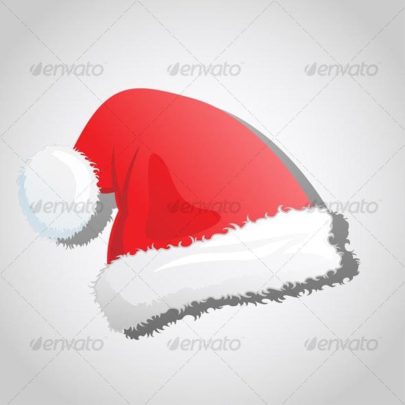 Santa's Christmas Hat - Christmas Seasons/Holidays