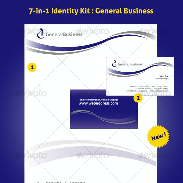 7-in-1 Identity Kit - General Business