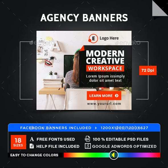 Work Space Banners