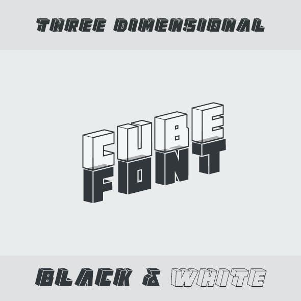 Cube Font