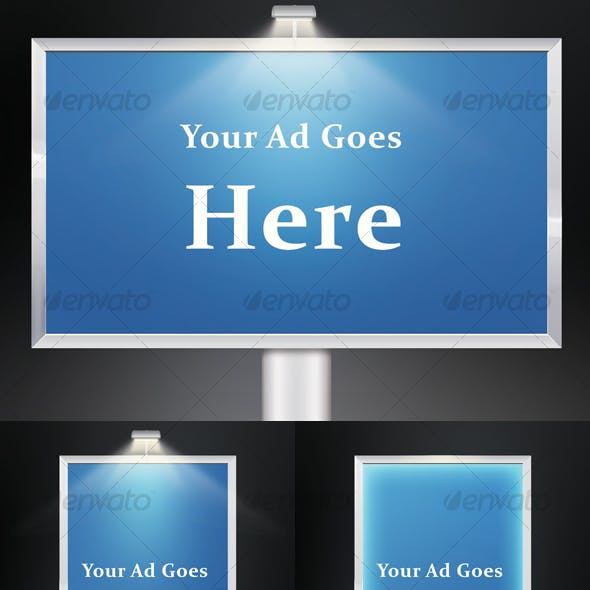 Layered Advertising Boards