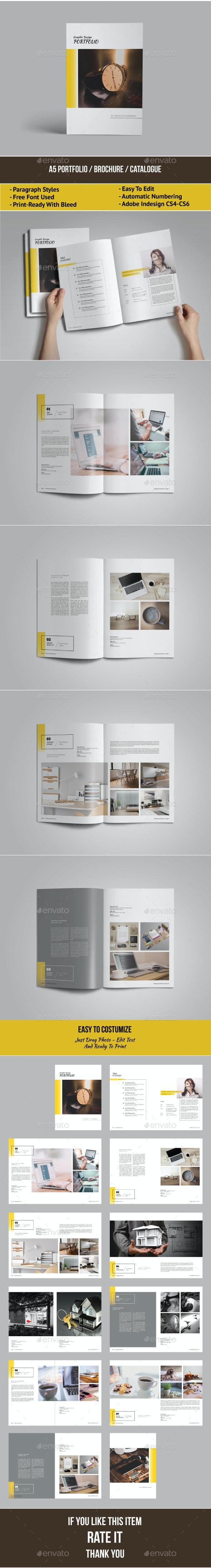 A5 Portfolio / Brochure / Catalogue - Portfolio Brochures