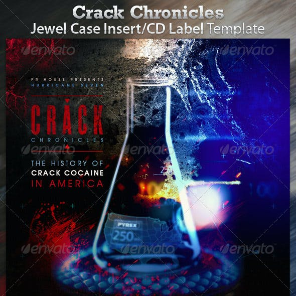Crack Chronicles Audio Book CD Mixtape Template