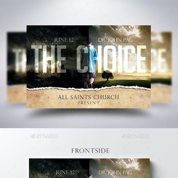 The Choice Church Flyer