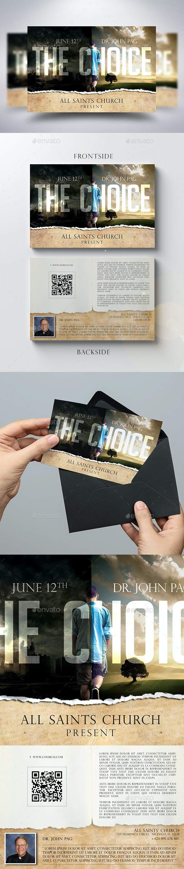 The Choice Church Flyer - Church Flyers