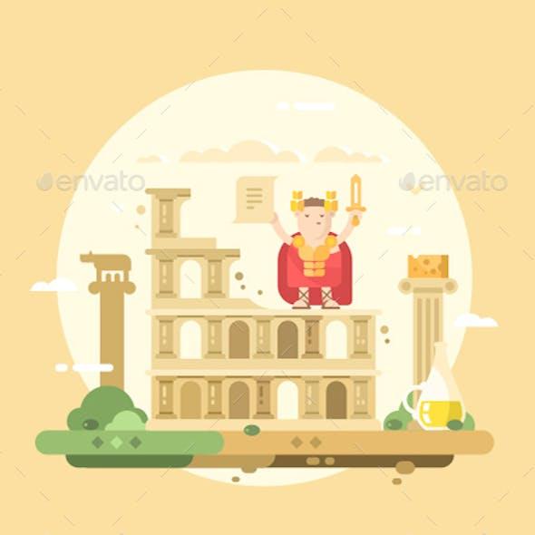 Rome City Flat
