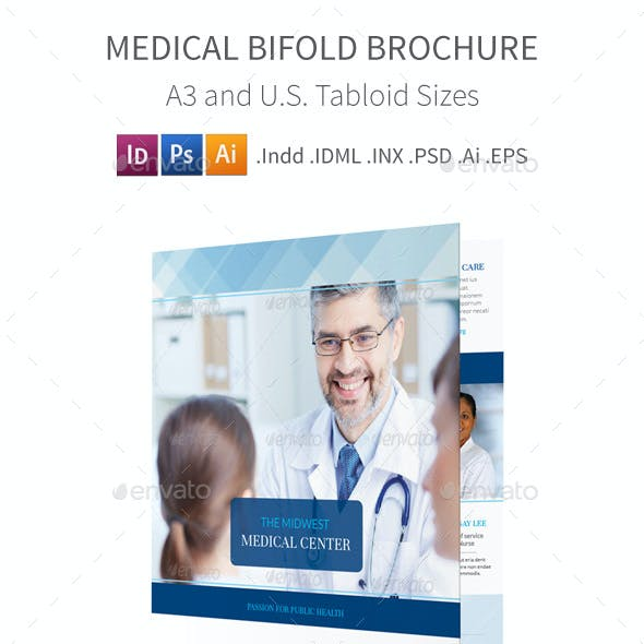 Medical Bifold / Halffold Brochure 4