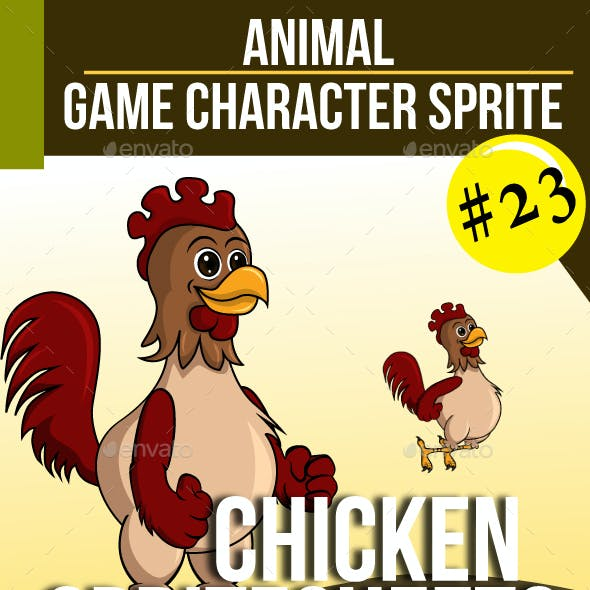 Game Asset : Chicken