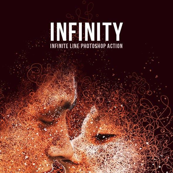 Infinity-Infinite Line Photoshop Action