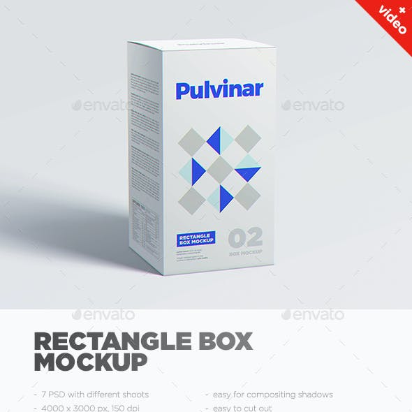 Box / Packaging MockUp - Rectangle