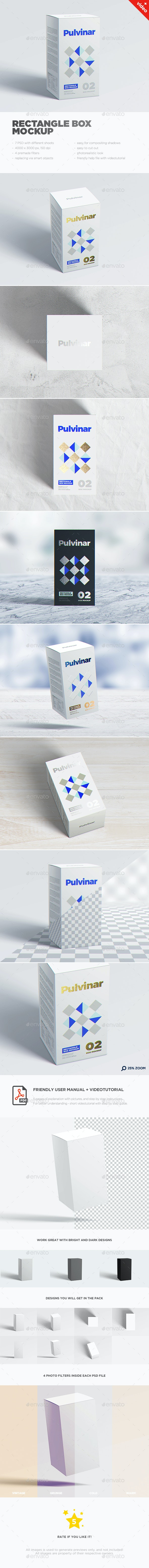 Box / Packaging MockUp - Rectangle - Miscellaneous Packaging