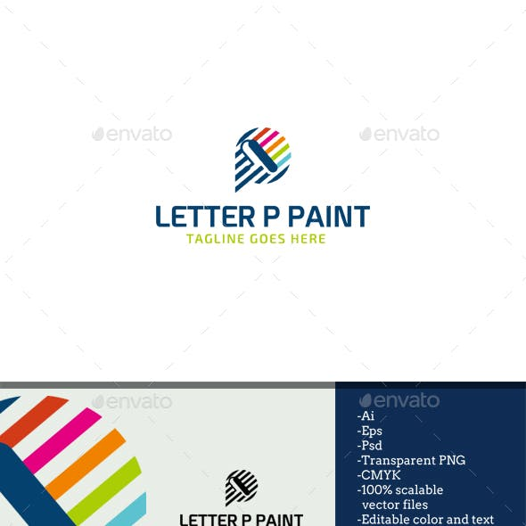 Letter P Paint