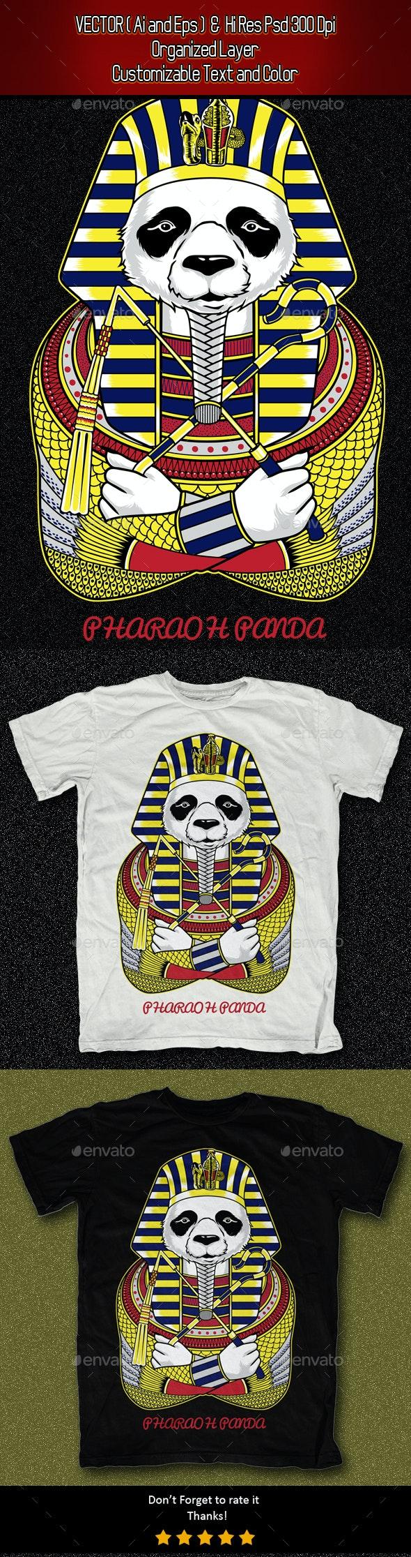 Pharaoh Panda - Funny Designs
