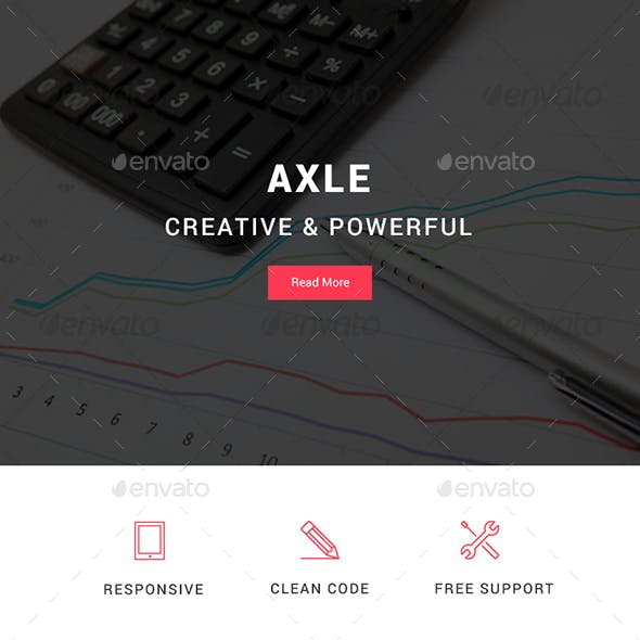 Axle - Multipurpose Email Template