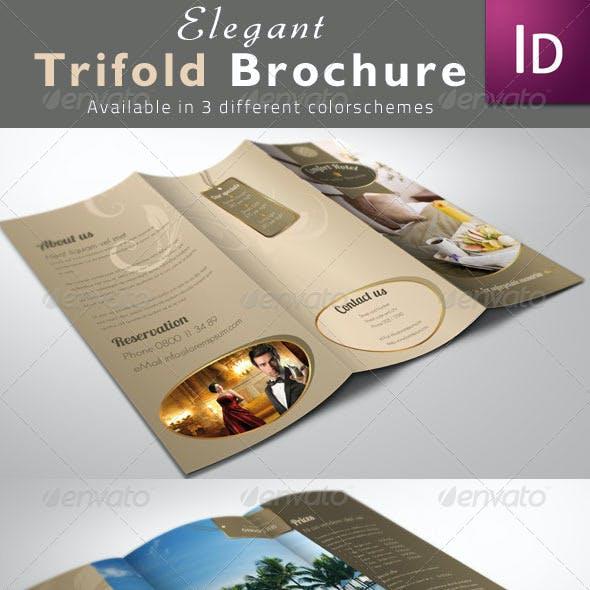 Elegant Trifold Brochures