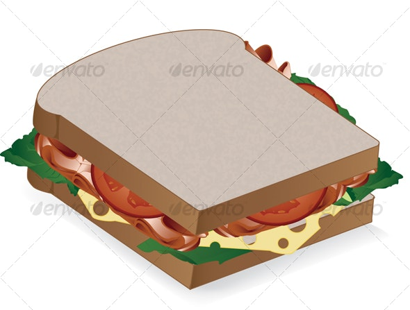 Sandwich - Food Objects