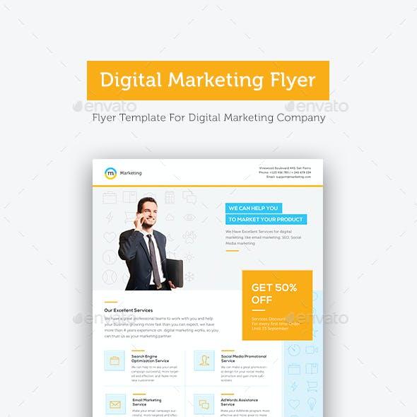 Digital Marketing Flyer