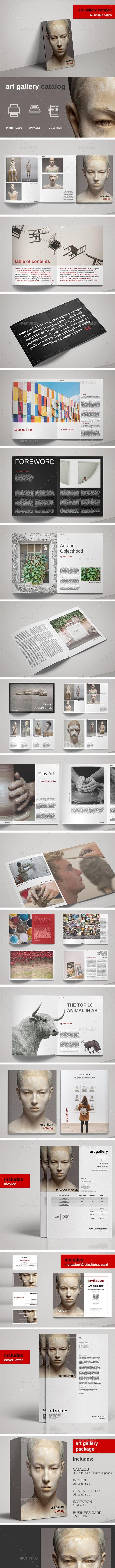 Art Gallery Exhibition Catalog - Catalogs Brochures