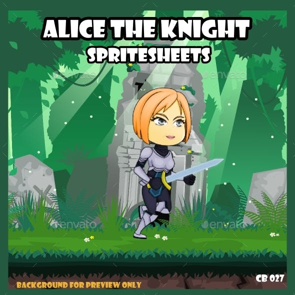 Game Asset : Girl Warrior