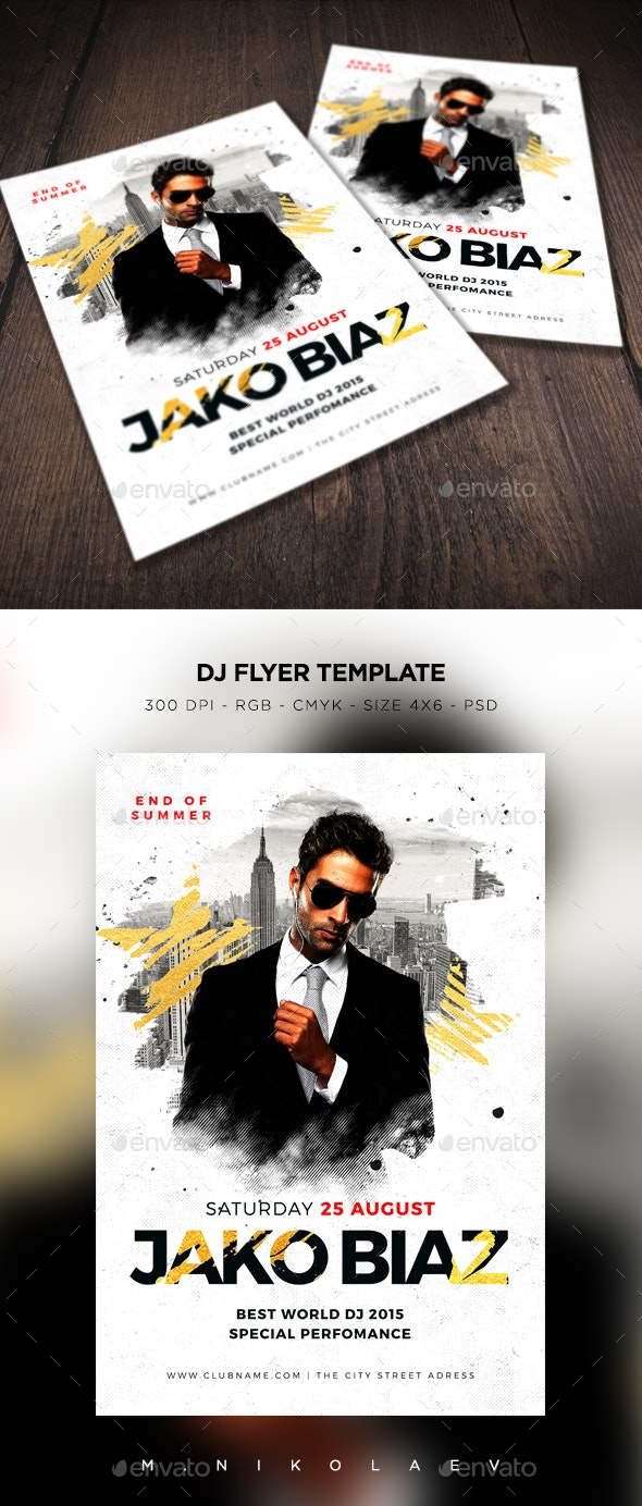DJ Flyer V3 - Clubs & Parties Events