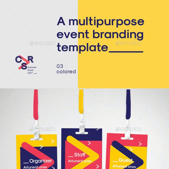 A Multipurpose Event Branding Template