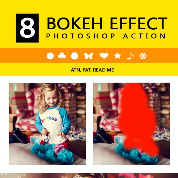 Bokeh Effects PS Action