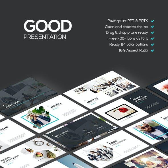Good - Creative Theme