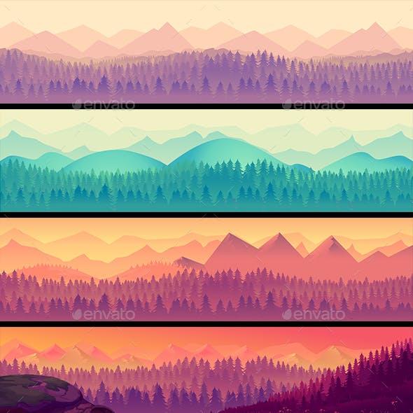 Nature Landscape Set