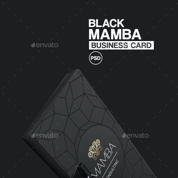 Black Mamba Business Card