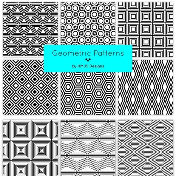 Geometric Patterns, Vol 1