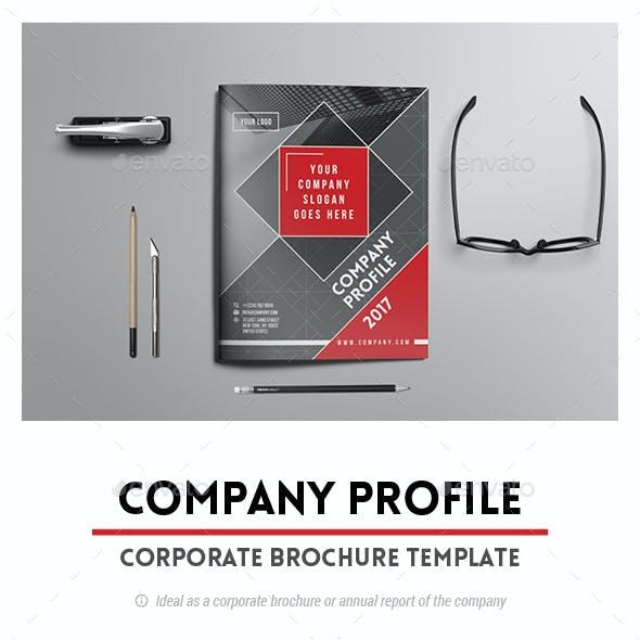 "Corporate Brochure Template ""Company Profile"""