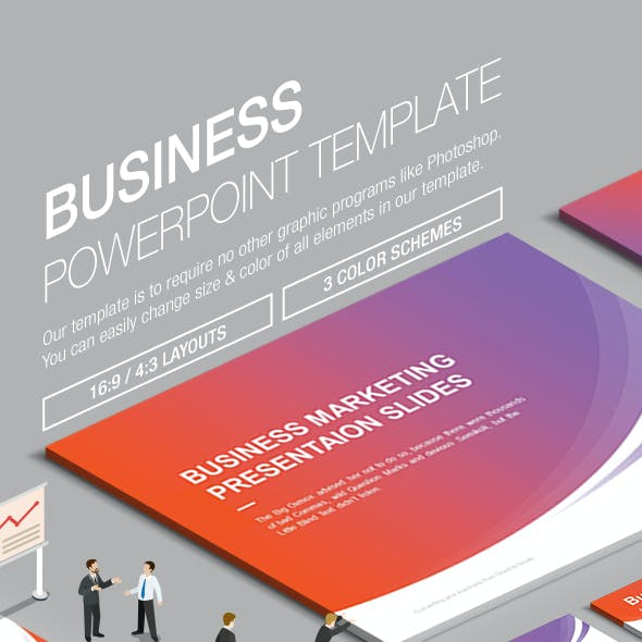 Business Powerpoint Template 001