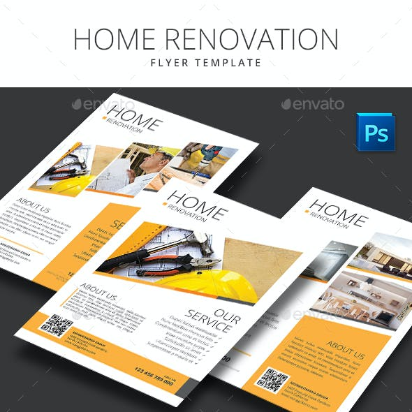 Home Renovation Flyer