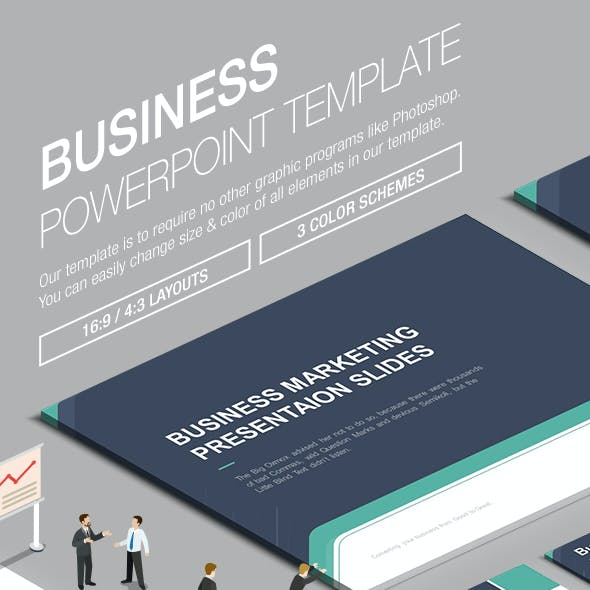 Business Powerpoint Template 003