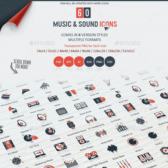 Music & Sound Icons