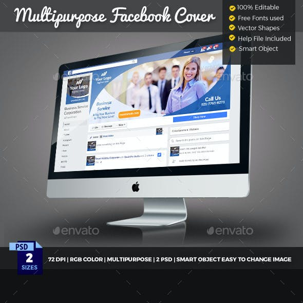 Multipurpose Facebook Cover Timeline