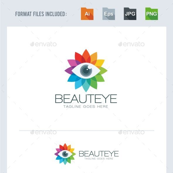 Beauty Eye Logo Template