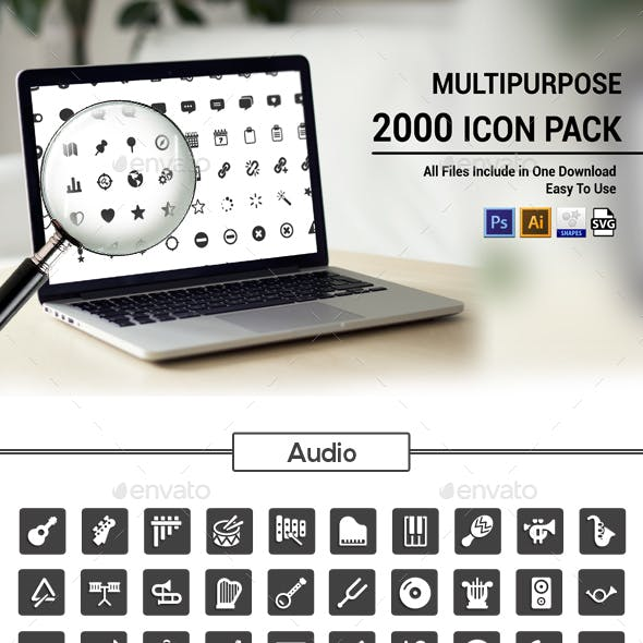 2000 Vector Icons