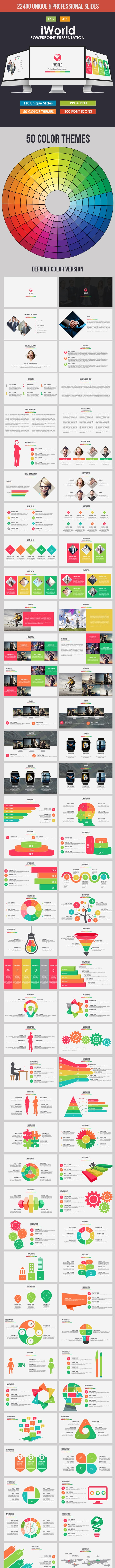 iWorld - Powerpoint Presentation Template - Business PowerPoint Templates