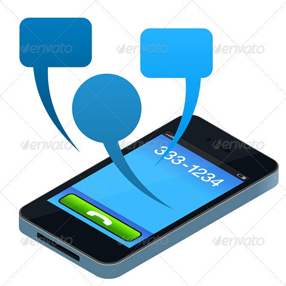 Social Mobile Phone - Communications Technology