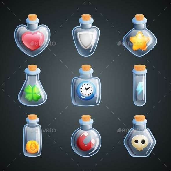 Magic Potions for Game