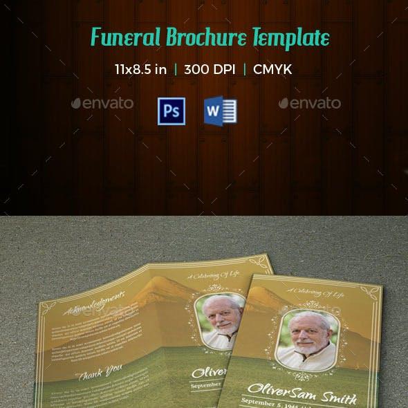 Funeral Program Template-V120