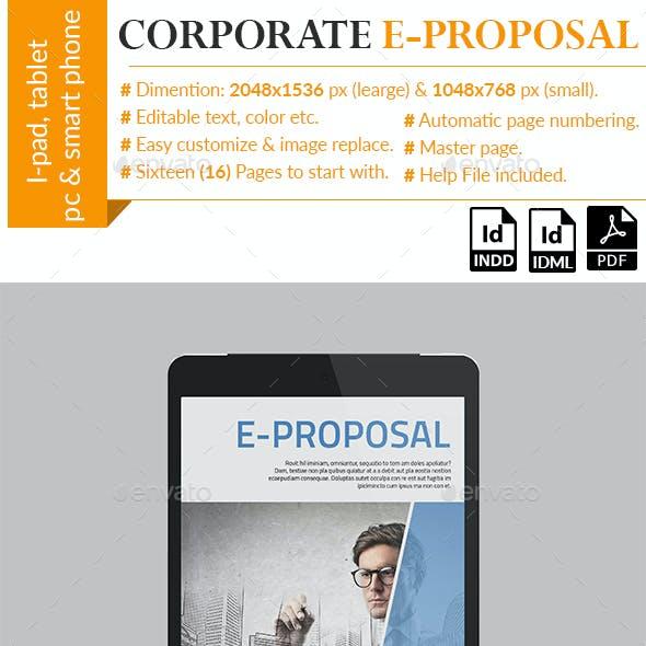 Corporate E-Proposal