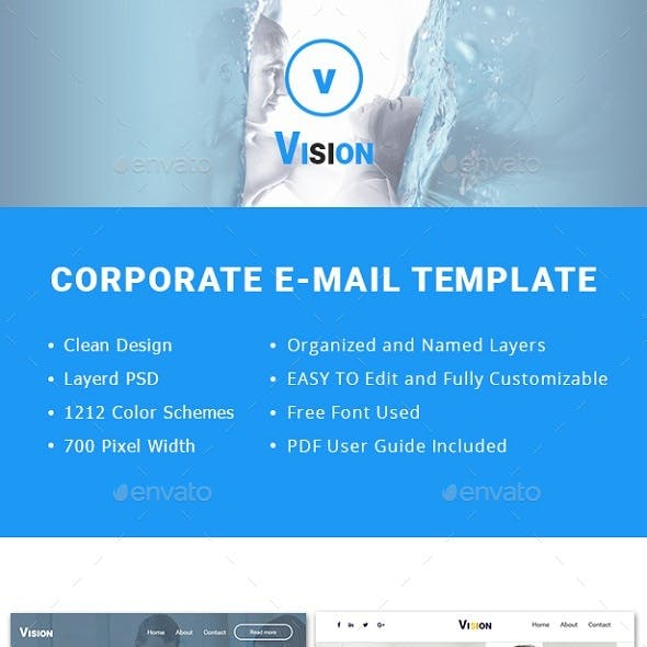 VISION-PSD Email Template