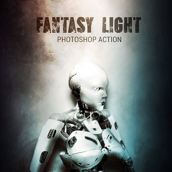Fantasy Light - Photoshop Action