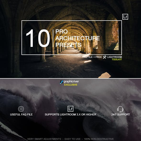 Premium Landscape Lightroom Presets from GraphicRiver