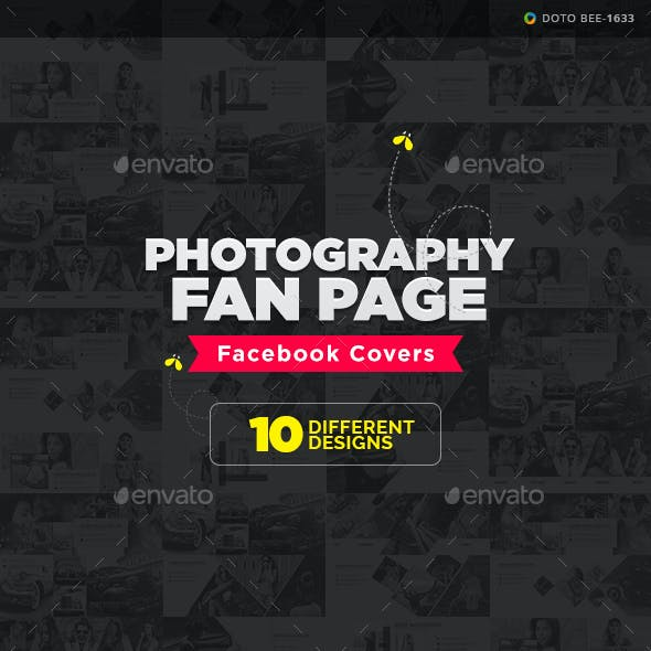 Photography Fan Page Facebook Covers - 10 Designs