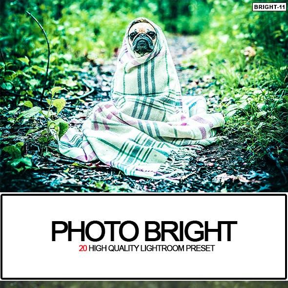 20 Photo Bright Lightroom Preset