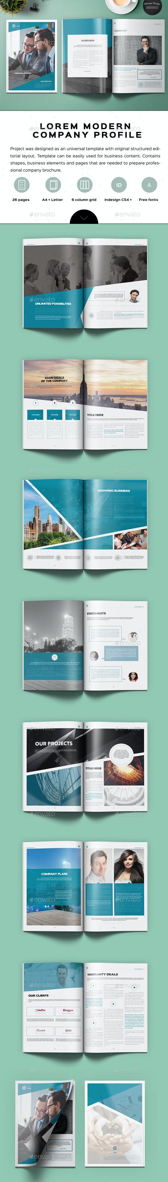 Lorem Company Profile - Corporate Brochures