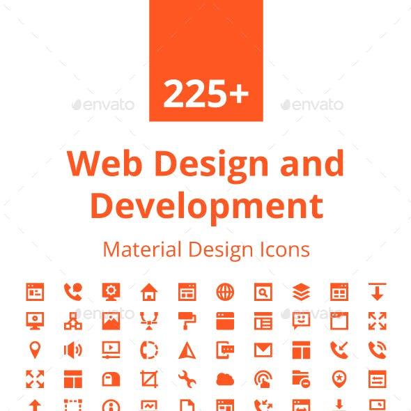 225+ Web Design and Development Icon